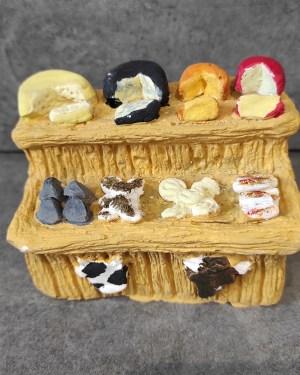 Etal du fromager santons de provence