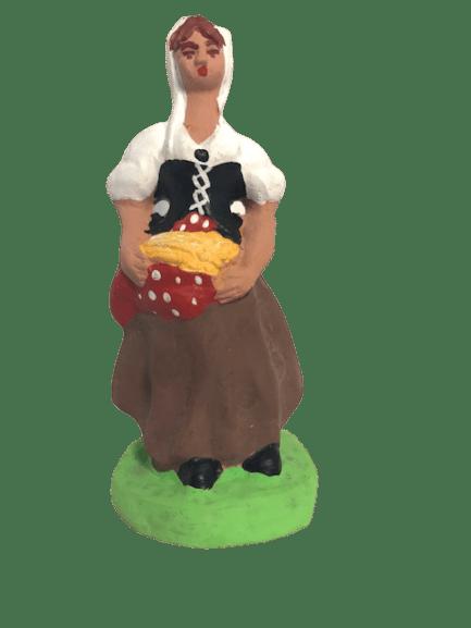 Faneuse santons de provence