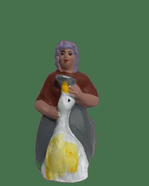 Gaveuse d'oie santons de provence