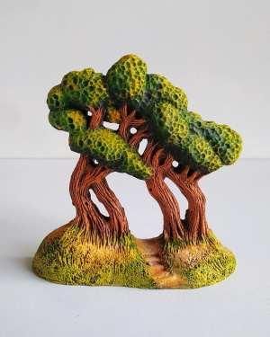 Groupe de pins santons de provence