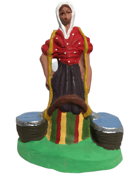 Porteuse d'eau santons de provence