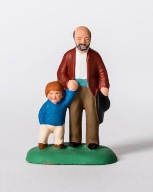 Aveugle et son fils santons Campana