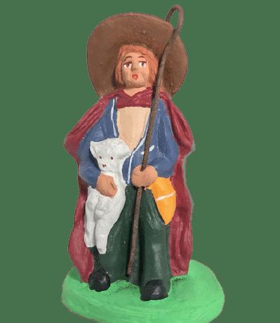 Berger à l'agneau santons Dusserre