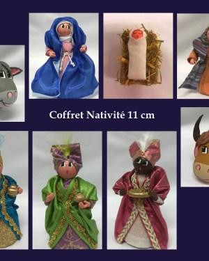 Cent tons de Mamie - Coffret Nativité de santons