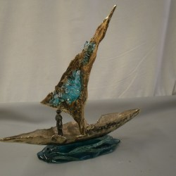 handcrafted bronze artwork