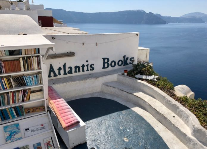 Atlantis Books in Santorini - Updated for 2020