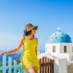 One day trip on Santorini island