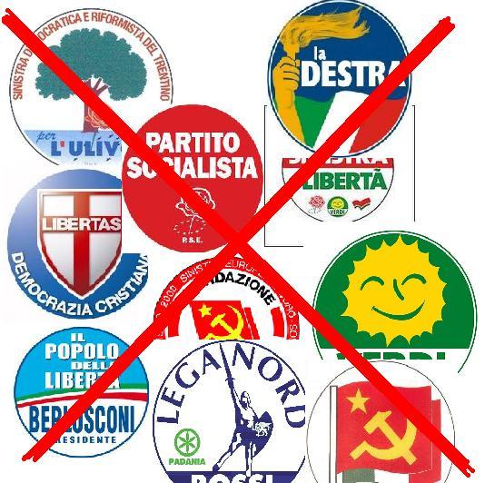 Ecco i partiti che hanno governato  la Sicilia per 64 anni. In testa la Dc (52 anni)