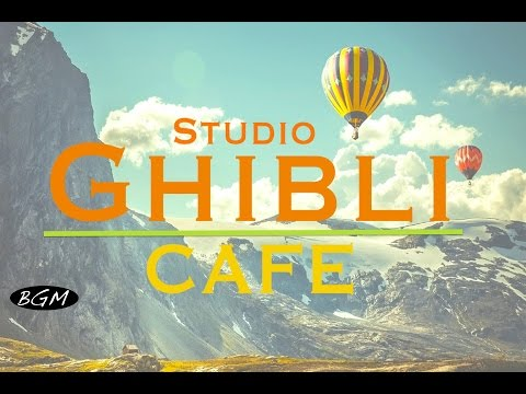 #GhibliJazz #CafeMusic – Relaxing Jazz & Bossa Nova Music – Studio Ghibli Cover
