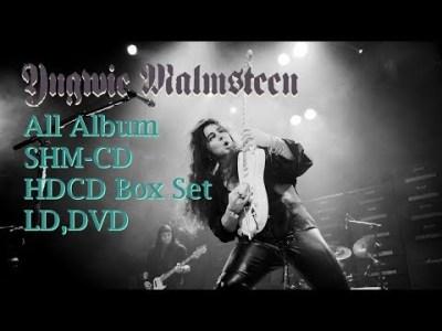 Yngwie Malmsteen SHM-CD & Box Set(HDCD) Open Case