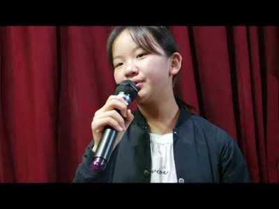 一人ハモり初挑戦【真夜中のギター】千賀かおるcover東亜樹、小学六年生
