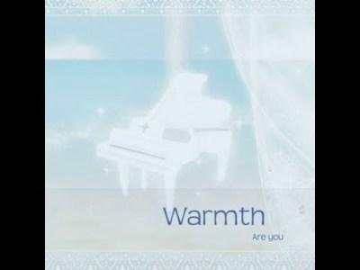 鮎「Warmth」CD皆さんのナレーションによる CM