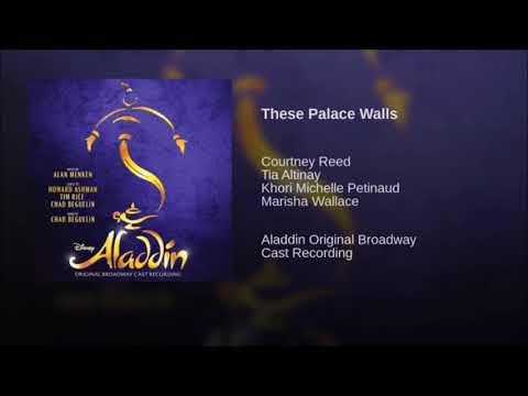 Aladdin Broadway- Full OBC
