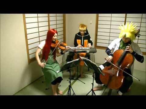 【ナルトリオ】NARUTO疾風伝サントラをうずまき一家で演奏してみた【NARUTORIO】NARUTO Shippuden Soundtrack
