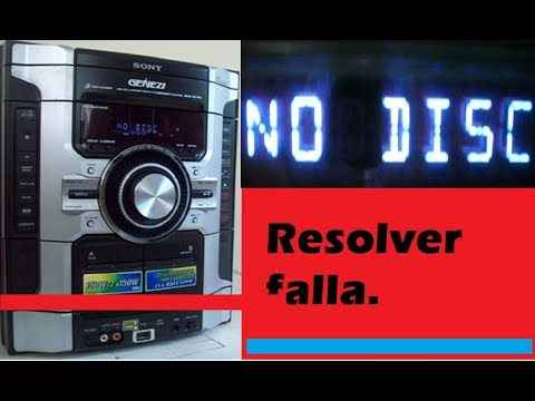 👉 FALLA NO DISCO [ SOLUCIÓN 💯] lectura de discos resolverlo si invertir dinero Electrónica Núñez❤️