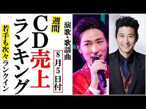 演歌CD売上週間オリコンランキング続々新曲がランクイン!山内恵介や竹島宏、走祐介や中澤卓也と入り乱れる!