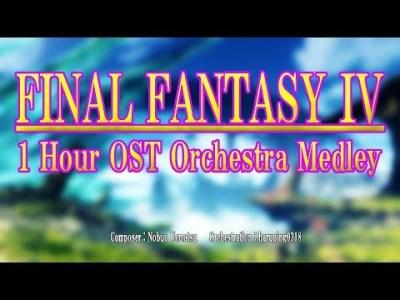 【FINAL FANTASY 4】サウンドトラックをオーケストラアレンジにしてみた(1時間)(作業用BGM)High Quality Soundtrack 高音質