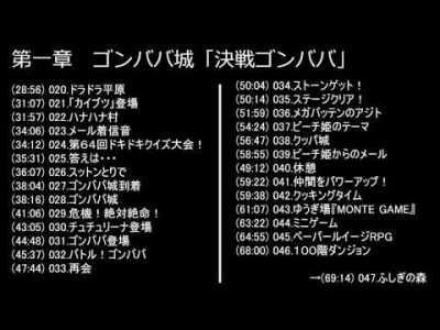 ペーパーマリオPRG 全BGM集サウンドトラック(前編)