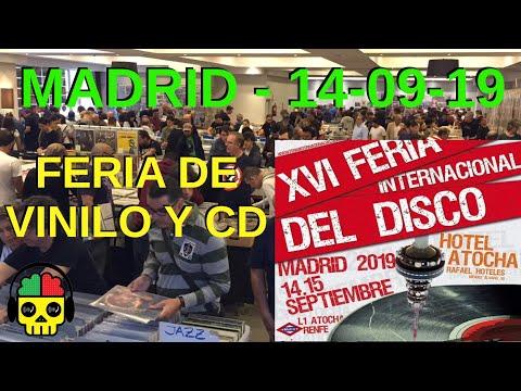 REPORTAJE VINILOENFERMOS: FERIA INTERNACIONAL DEL DISCO DE MADRID 2019 Vinilo CD / Vinyl record fair