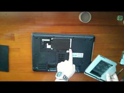 Cambiar unidad de DVD de tu portátil por un disco duro