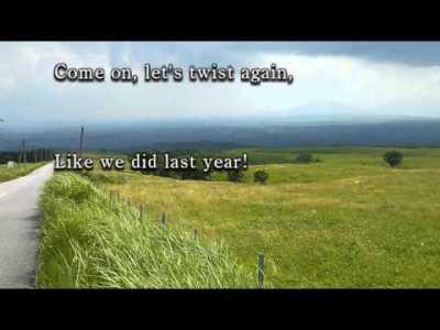 【歌えるオールディーズ 80】 レッツ・ツイスト・アゲイン (チャビー・チェッカー)