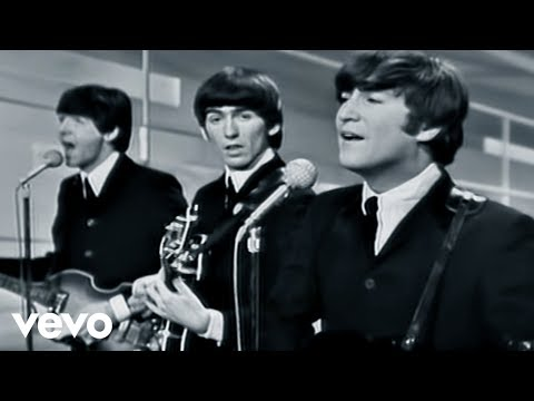 The Beatles – I Want To Hold Your Hand – Performed Live On The Ed Sullivan Show 2/9/64