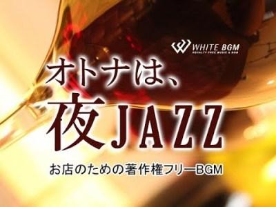 おしゃれで大人っぽいジャズ【商用利用可・空間演出BGM】オトナは、夜JAZZ(4120) WHITE BGM