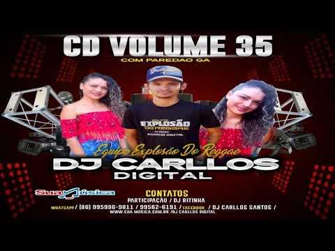REGGAE REMIX 2019 DJ CARLLOS DIGITAL CD VOL. 35 @Lucianocds10