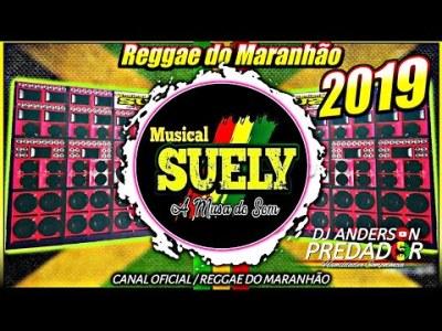 CD Musical Suely A musa do Som -Reggae do Maranhão