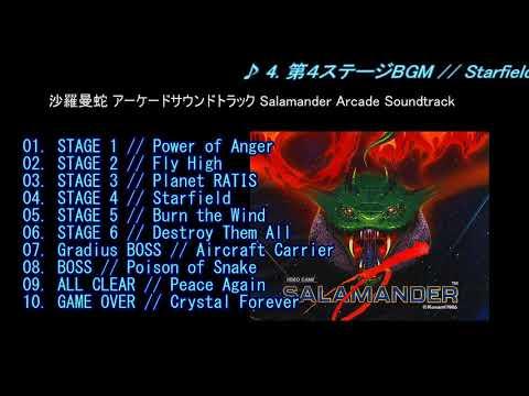 沙羅曼蛇 アーケードサウンドトラック Salamander Arcade Soundtrack
