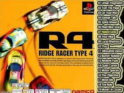 R4 RIDGE RACER TYPE 4 全BGM集 OST