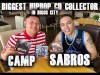 Biggest hiphop CD collector from Digos City, Camp Sabros