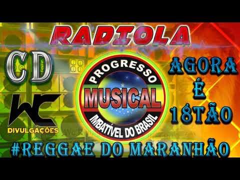 CD RADIOLA PROGRESSO MUSICAL- REGGAE DO MARANHÃO