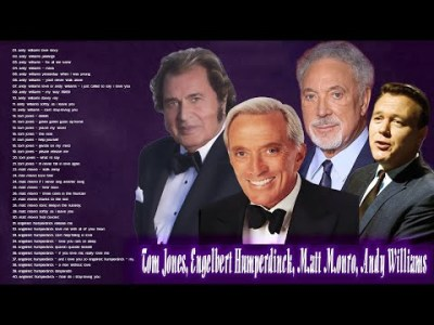 Tom Jones, Matt Monro, , Engelbert Humperdinck,Andy Williams Greatest Hits | Best Oldies Songs Ever