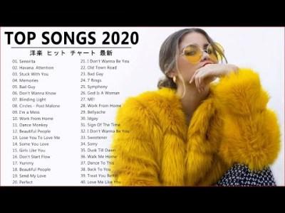 【作業用BGM】 やる気を全開にさせる最強洋楽メドレー2020【曲名付き】洋楽 ヒット チャート 最新 2020 #Live