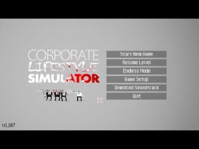 【サントラ盤欲しくなる!!】Corporate Lifestyle Simulator