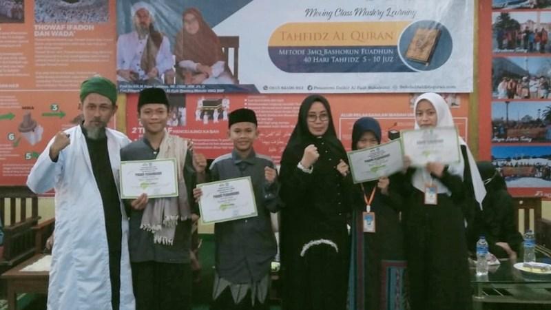 Al Fath Cetak Santri Penghafal Qur'an Melalui Metode 3MQ Bashorun Fuadun