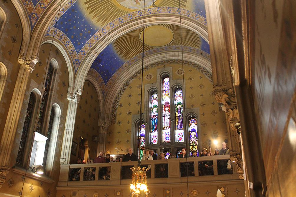 Solemnidad San José 2016: Eucaristía, cocelebrantes en el coro.