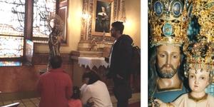 Peregrinos – Visita de una Agradecida Familia Colombiana