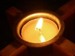 Imagen de luz para orar el día de todos los Santos.