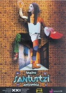 Cartel festival teatro 2000