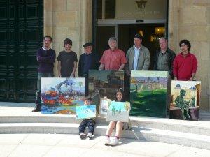 Foto certamen pintura 2011 (ganadores)