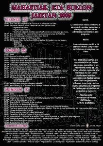 cartel fiestas 2009