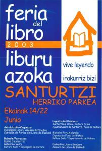 2003 cartel feria libro