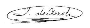 Firma Alcalde - Ildefonso Arrola