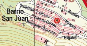 Plano Situación Barrio San Juan