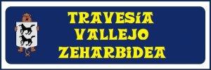 Travesía Vallejo (no hay placa)