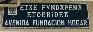 Avenida Fundación Hogar