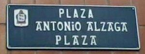 Plaza Antonio Alzaga