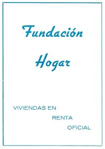 Publicidad Fundación Hogar 1963